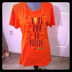 New without tags Reese pieces shirt